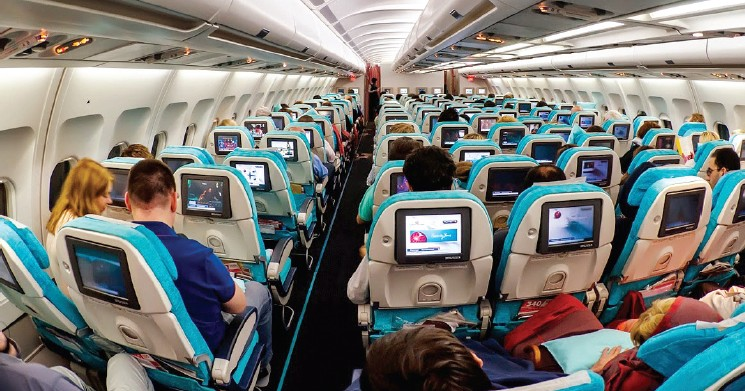 Turkish Airlines is equipped with in-flight entertainment system