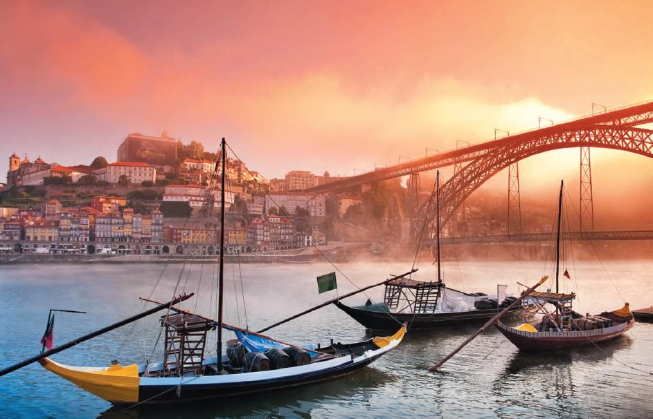 The town that gave the country (and port wine) its very name, Porto is Portugal's second-largest city after Lisbon