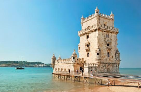 Belem Tower - the famous landmark in Lisbon