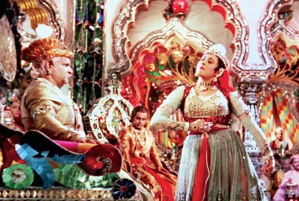 The lavish set of Mughal-E-Azam