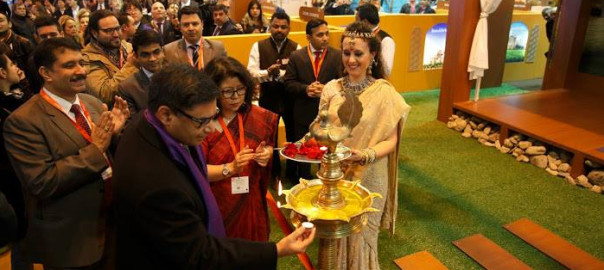 Inauguration of India Pavilion by Ambassador Vikram Misri