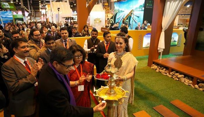 Inauguration of India Pavilion by Ambassador Vikram Misri