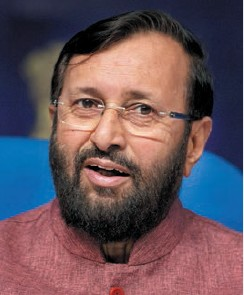 Prakash Javadekar,Minister of State for Environment & Forests and Climate Change, India