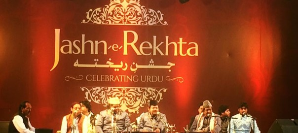 Sabri Brothers set the mood for the evening and the audience responded with a similar fervour