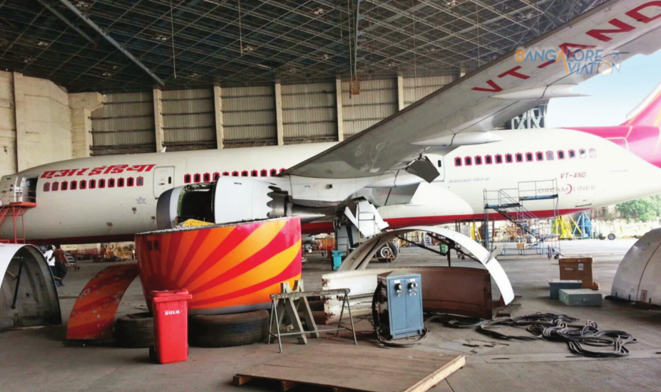 The MRO facility at Nagpur airport between Air India and Boeing has so far received two Boeing 777 aircraft