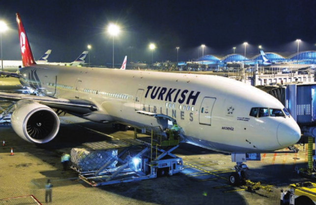 Turkish Airlines is adding new aircraft - Boeing 777 - to its Delhi and Mumbai routes in India