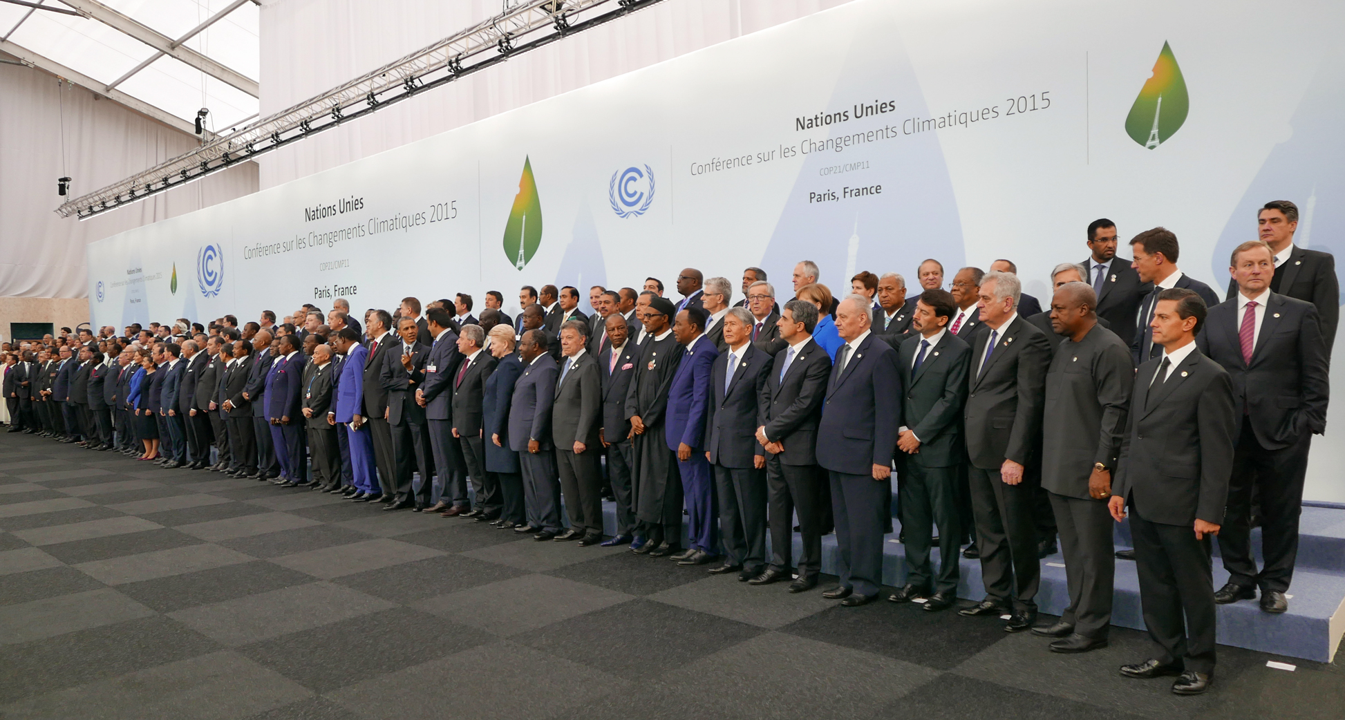 Nearly 150 countries under the United Nations framework convention will show up in New York to sign the agreement on climate change
