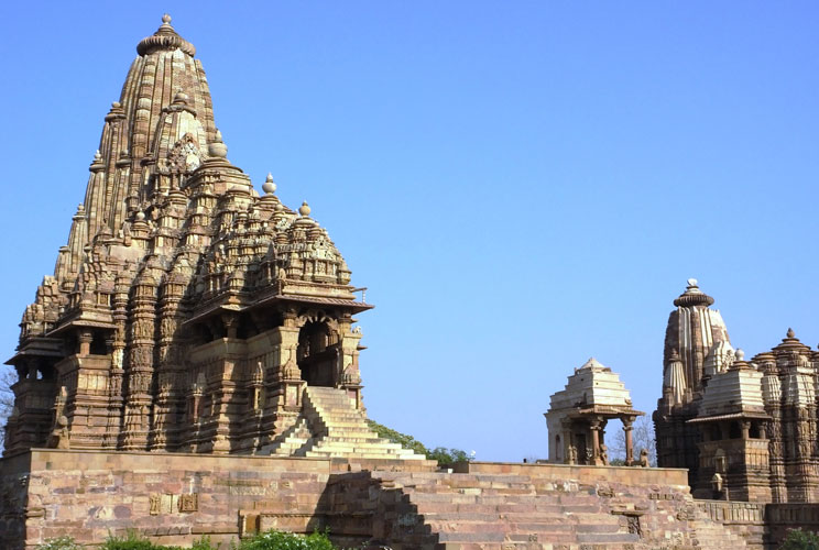 The famous Khajuraho Group of Monuments – a UNESCO World Heritage Site
