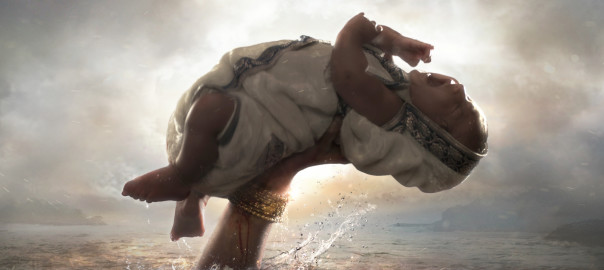 A still from 'Baahubali' which won the Best film and Best Special Effects award at the 63rd National Awards
