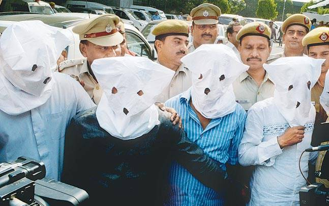 The convicts of the Apollo kidney transplant scam arrested by New Delhi police