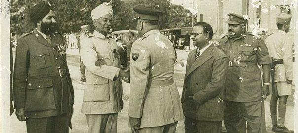 Sepoy Chatta Singh from Uttar Pradesh, in 1916.