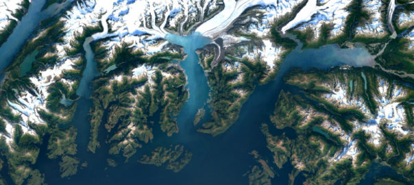 Google Earth images with 700 trillion pixels of Landsat data - Colombia Glaciers