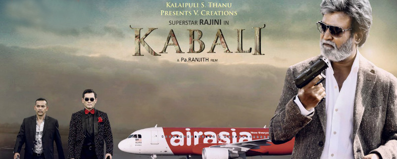A special aircraft has been readied for take-off to coincide with the release of Kabali on July 15