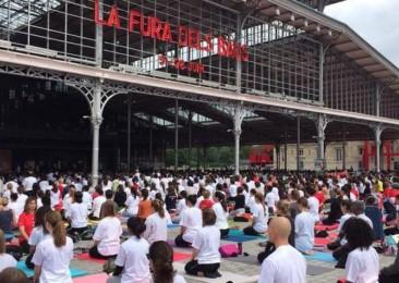 Célébration de la 2ème Journée internationale du yoga