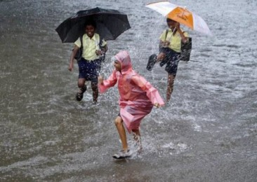 Bountiful monsoon showers in the country