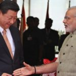 Indian Prime minister, Narendra Modi and Chinese President Xi Jinping