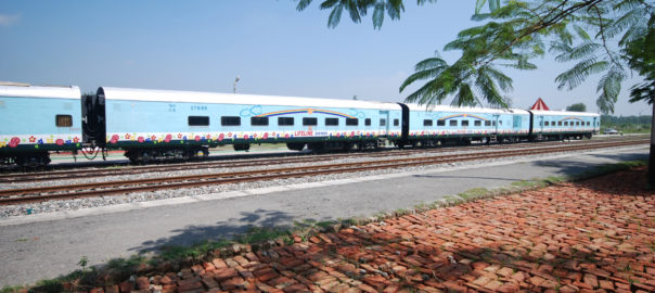 Exterior view of Lifeline Express
