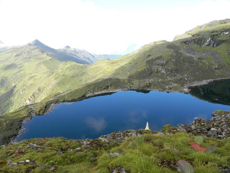 High altitude lake in Khangchendzonga National Park, Sikkim