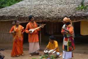Tribal theater and Baul Music