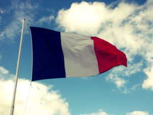 The French tricolour
