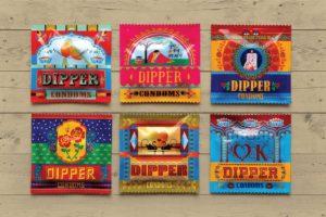 Tata Motors launches truck art inspired condoms. Image Copyright Dipper condoms,Tata Motors.