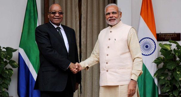 India-South Africa bond