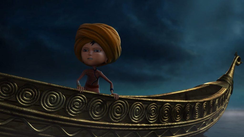 Kachho Gadulo - Little Gypsy was a 2012 Graduation film by an animation student inspired by Indian folk forms