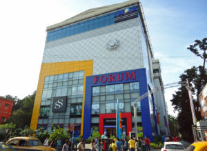 Forum Mall, Elgin Road, is one of Kolkata's first multiplex retail experiences