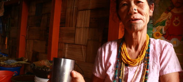 Apatani women are endearing and open to welcoming guests to their household