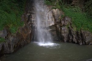 Waterfalls are common sights across the Seven Sisters in India.