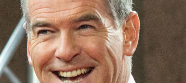 63 year old Irish actor Pierce Brosnan becomes an internet sensation in India