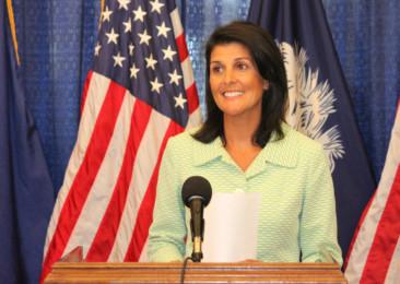 Nikki Haley nominated as the US ambassador to the UN