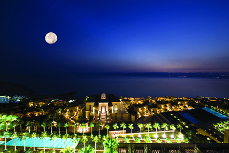 Conference guests will enjoy their stay at the Dead Sea