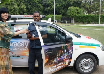 Philippines tourism launches branded taxis in New Delhi