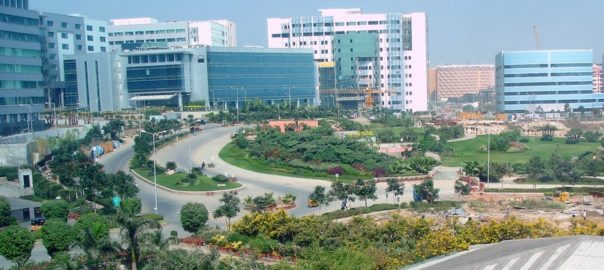 mindspace_campus_in_hyderabad_india