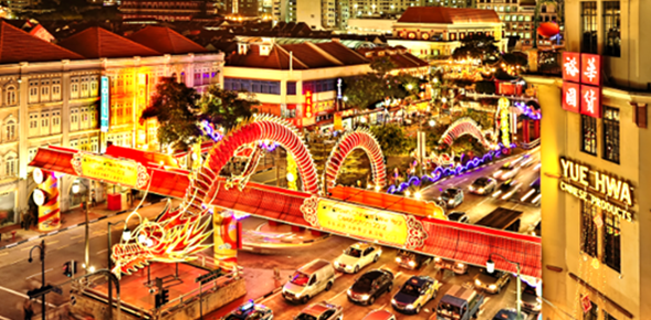 Celebrate different cultural events right here in Singapore