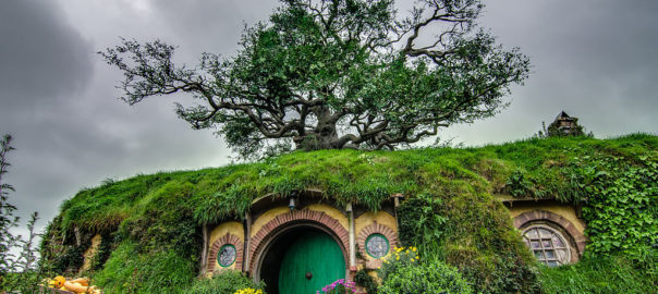 The Hobbit Trilogy was filmed entirely in New Zealand, throughout locations in both the North and South Islands
