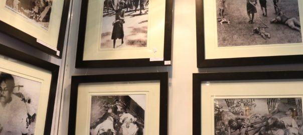 Images from the armed conflict for Bangladesh's liberation were on display at the Netaji Indoor Stadium in Kolkata as part of Victory Day commemoration.