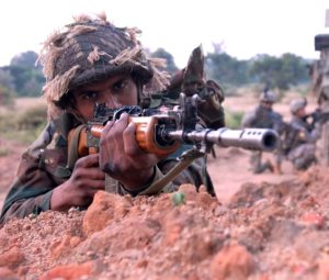 Indian Army soldiers lost lives at the encounter