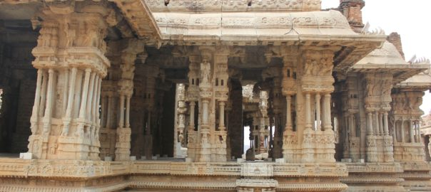 Hampi is among the many places to see in Karnataka
