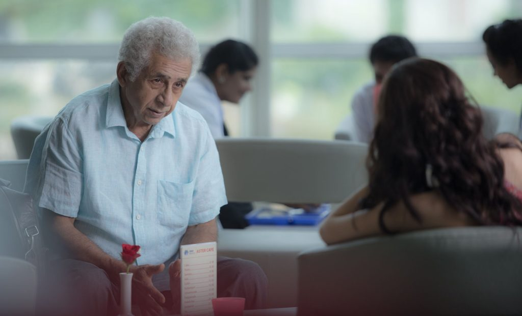 A scene from the film featuring Naseeruddin Shah