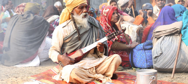 STRINGMEISTER: A hermit plays devotional tunes on indigenous string instrument