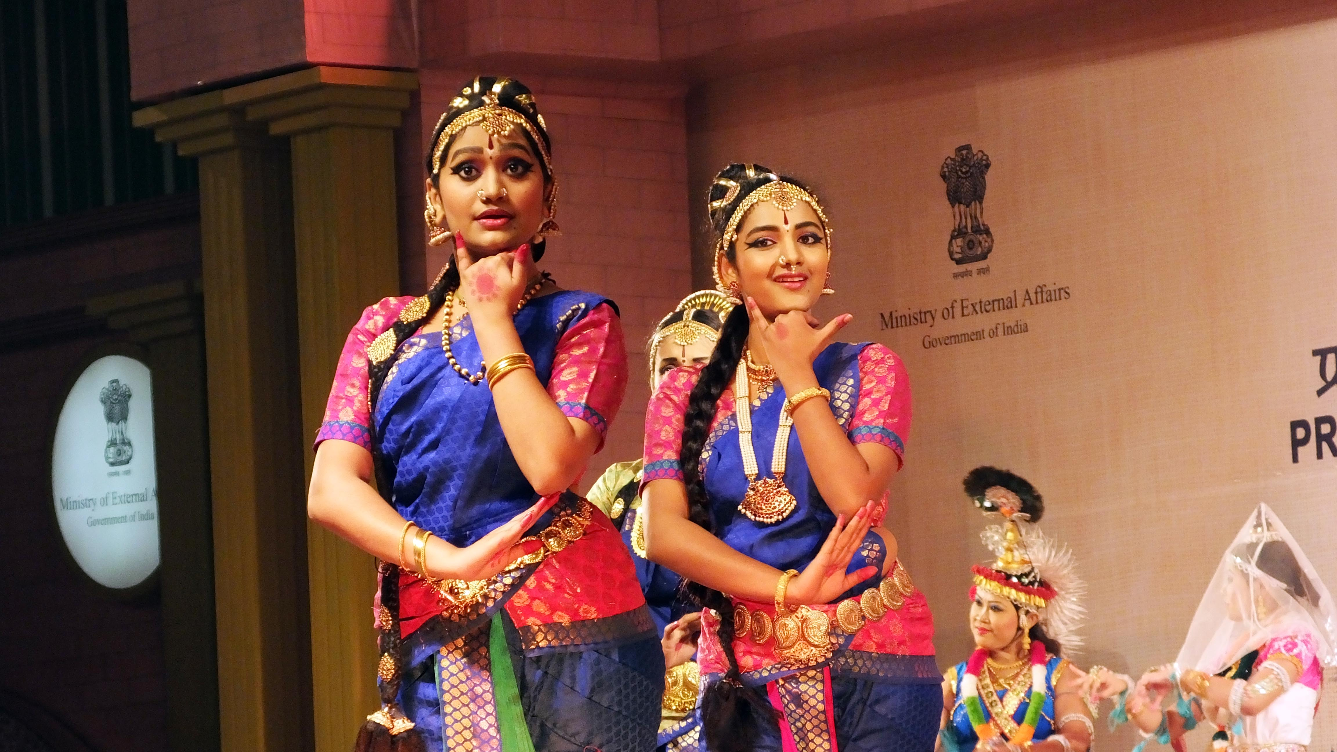 Different Indian dance forms originated in different parts of India and developed according to the local traditions