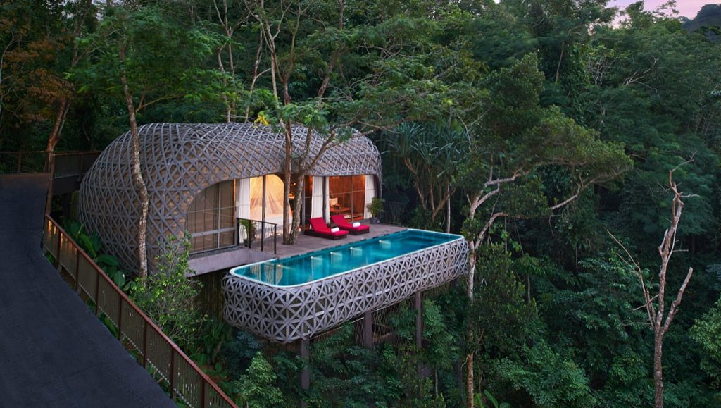 Keemala, tree-pool house resort in Phuket