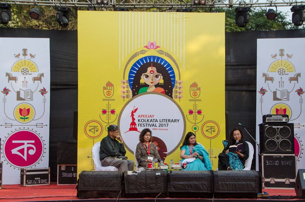 A discussion session held at St. Paul's Cathedral in Kolkata