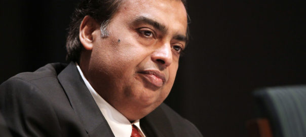 Mukesh Ambani (USD 19.3 billion) is one among the top 57 billionaires in India