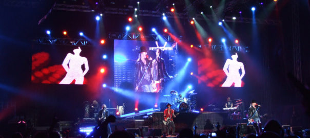 Guns N' Roses, one of the bestselling hard rock bands of all time