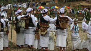 The Galo tribe of Basar celebrates the Mopin festival of harvest