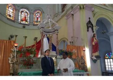 La deuxième visite au Bengale Occidental de l'ambassadeur de France en Inde