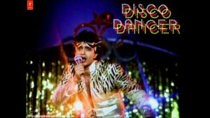 From the video of the song, Disco Dancer. Image- Screenshot from video